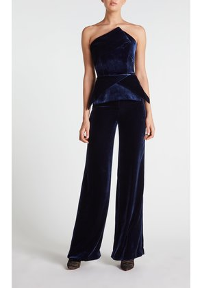 Carradine Jumpsuit - 8 / Navy