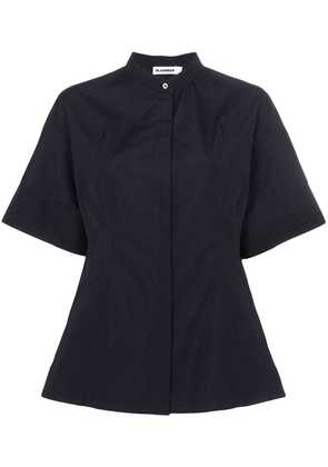 Jil Sander guya cotton shirt - Blue
