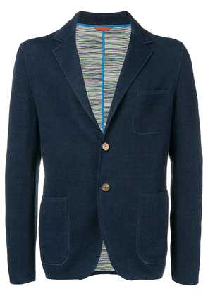 Missoni classic fitted blazer - Blue