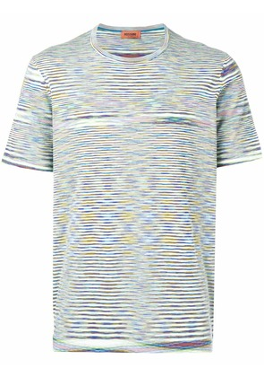Missoni striped short-sleeve T-shirt - Multicolour