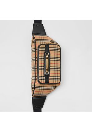 Burberry The Large 1983 Check Link Bum Bag, Black
