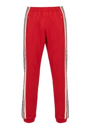 Gucci - Gg Print Technical Track Pants - Mens - Red Multi