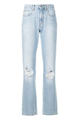 MSGM relaxed fit jeans - Blue