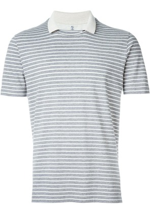 Brunello Cucinelli striped T-shirt - Grey