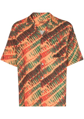 Missoni short sleeve tie dye print shirt - S2048 Orange