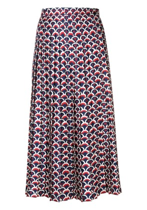 Valentino scale print skirt - Blue