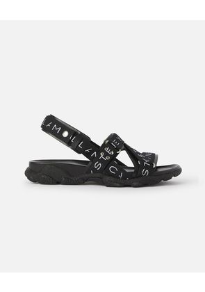 Stella McCartney Multicolour Black Sandals, Men's, Size 5