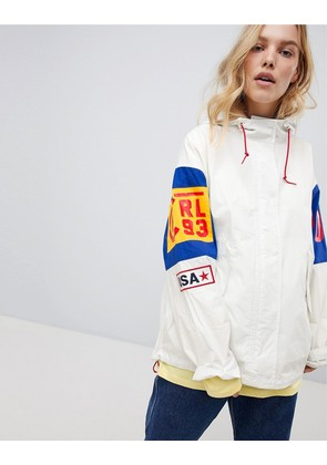 Polo Ralph Lauren Bring It Back Colour Block Jacket - Antique cream