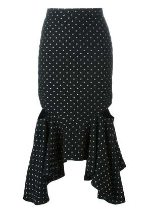 Givenchy fitted peplum skirt - Black