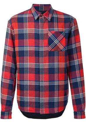 Aztech Mountain 'Loge Peak' quilted shirt - Red