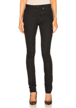 Saint Laurent Skinny Pant in Black