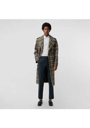 Burberry Classic Fit Wool Cashmere Tailored Trousers