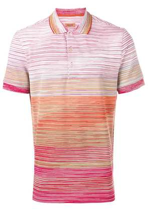 Missoni printed polo shirt - Red