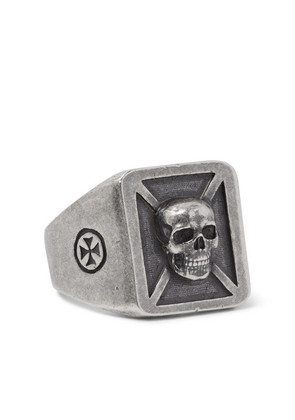 Vetements - Burnished Silver-tone Ring - Silver