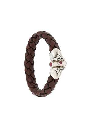 Elf Craft lily joint lock bracelet - Brown