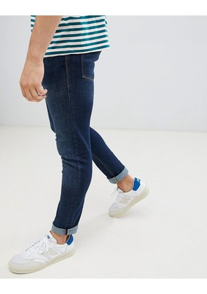 Jack & Jones Jeans In Slim Fit Rinsed Blue Denim