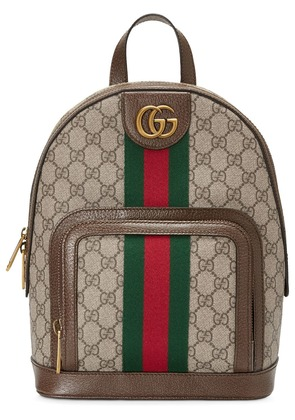 Gucci Ophidia GG small backpack - Brown