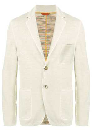 Missoni classic slim-fit blazer - Neutrals