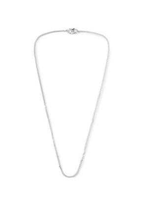 Bunney - Sterling Silver Chain Necklace - Silver