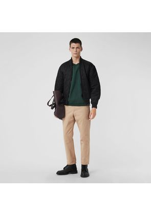 Burberry Quilted Bomber Jacket, Black
