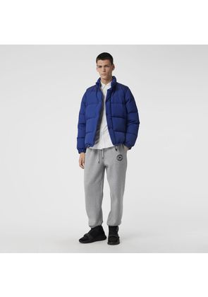 Burberry Detachable-sleeve Down-filled Puffer Jacket, Blue