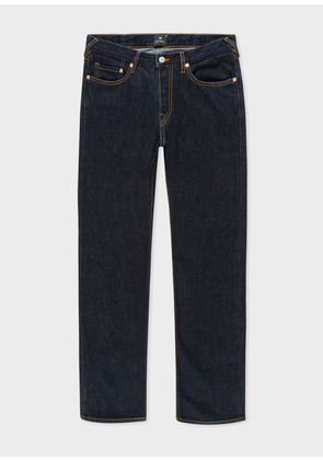 128fd962e397 Men s Tapered-Fit 13oz  Pink Selvedge  Indigo Denim Jeans. PS Paul Smith