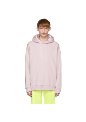 Givenchy Pink Embroidered Logo Hoodie