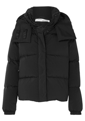 Off-White - Printed Quilted Shell Down Jacket - Black