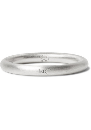 Le Gramme - Le 5 Brushed Sterling Silver Ring - Silver