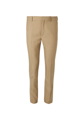 Balenciaga - Skinny-fit Virgin Wool-blend Trousers - Sand