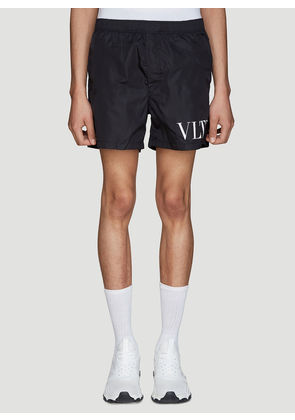 Valentino VLTN Swim Shorts in Black size IT - 46