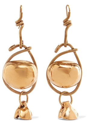 Marni - Gold-tone Earrings - one size