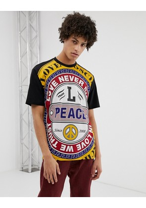 Love Moschino T-Shirt With All Over Print