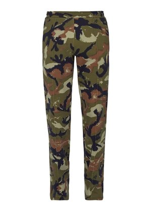 Valentino - Cameo Art Print Track Pants - Mens - Green