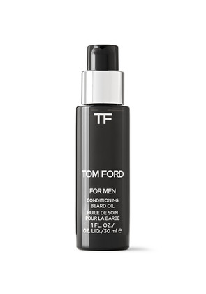 TOM FORD BEAUTY - Oud Wood Conditioning Beard Oil, 30ml - Black