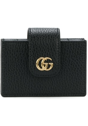 Gucci double G card holder - Black