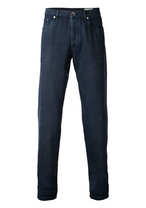 Brunello Cucinelli regular fit jeans - Blue