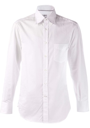 Brunello Cucinelli button down shirt - White