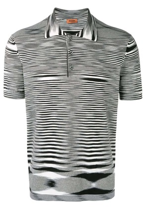 Missoni short sleeved polo shirt - White