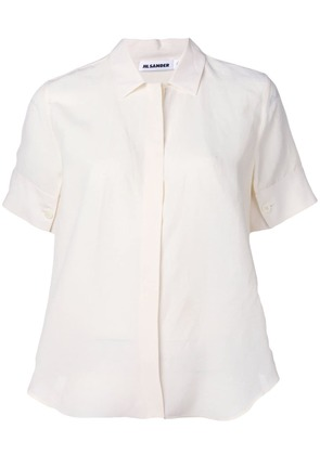 Jil Sander shortsleeved shirt - White