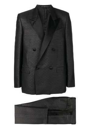 Givenchy classic double-breasted suit - Black