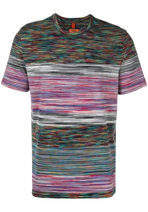 Missoni abstract stripe T-shirt - White
