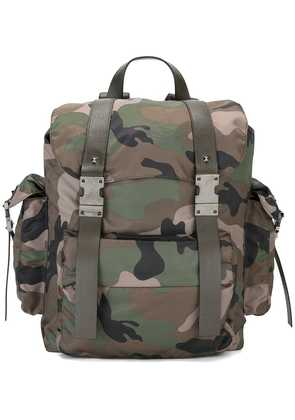 Valentino camouflage print backpack - Multicolour