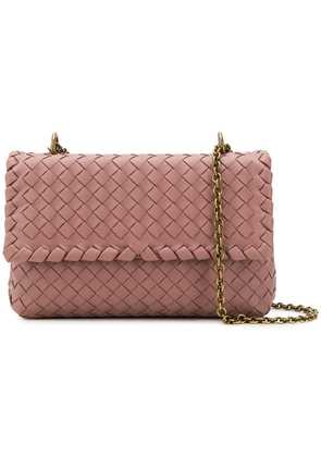 Bottega Veneta small Olimpia shoulder bag - Pink