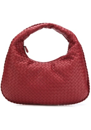 Bottega Veneta medium veneta hobo bag - Red