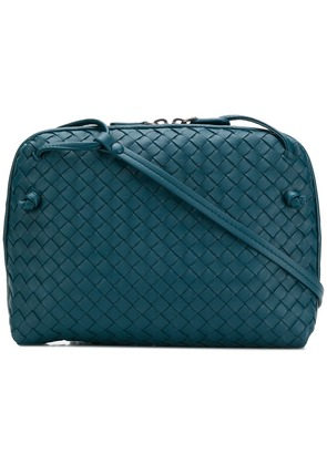 Bottega Veneta nodini messenger bag - Blue