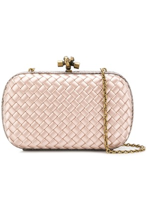 Bottega Veneta Knot Intrecciato crossbody bag - Neutrals