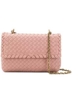 Bottega Veneta woven crossbody bag - Pink