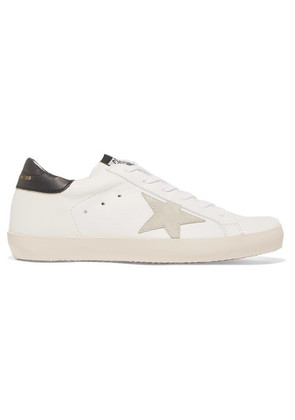 Golden Goose Deluxe Brand - Superstar Leather And Suede Sneakers - White