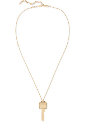 Saint Laurent - Gold-tone Necklace - one size